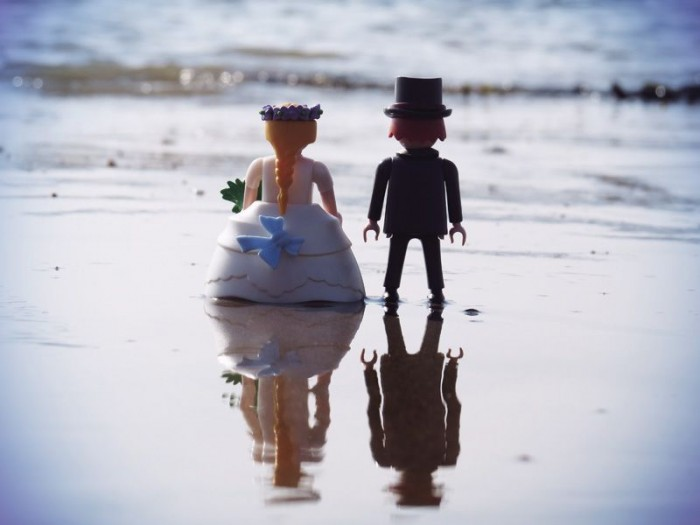 matrimonio playmobile FitzGerald Photographic Sussex Wedding Photographer Eastbourne Bride Groom Photoshoot Playmobil5
