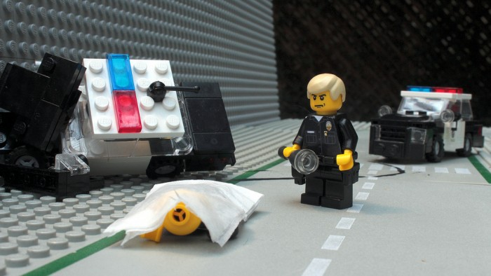police incidenrte morto lego