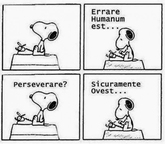 errore snoopy