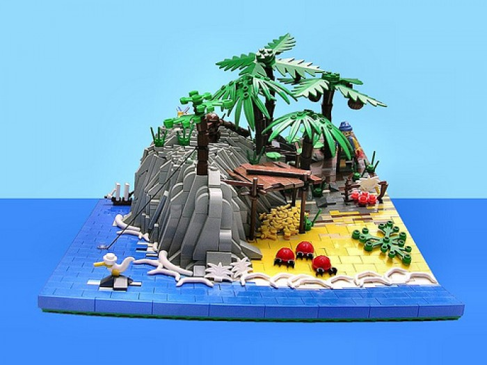 waves mare isola lego